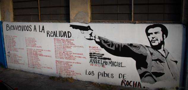 The fallen ones in the neighborhoud of La Bocca