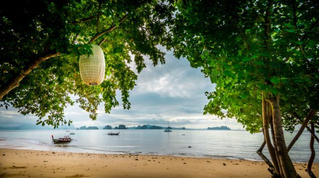 Phang Nga bay islands viewed from the Koyao Island Resort